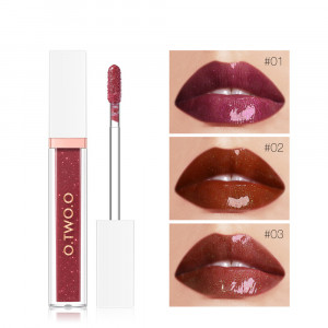 7 Colors Shimmer Lipstick Liquid No Sticky Texture Pigment Nude Lip Gloss Moisturizing Hydrating Makeup Care