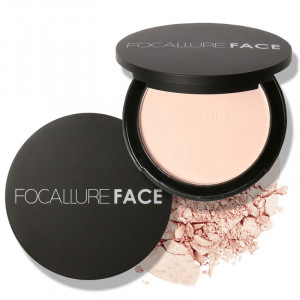 mineral face pressed powder oil control natural foundation powder 3 colors Smooth finish concealer setting powder