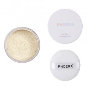 4 Colors Smooth Loose Powder Makeup Transparent Finishing Powder Waterproof Cosmetic Puff For Face Finish Setting With Puff