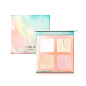 5 Colors Highlighters Palette Micro Tiny Powder Natural Highlight Professional Illuminator Makeup Highlighters Palette