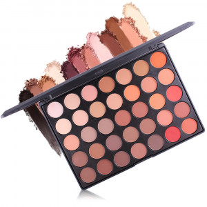 35 Color Eye Shadow Palette Shimmer Matte Eyeshadow Makeup Palette Natural Nude Shadow Women Beauty Eyes Cosmetic Kits